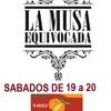 Logo LA MUSA EQUIVOCADA - SABADO 3 DE SEPTIEMBRE