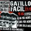 """Logo 5° Marcha Nacional contra el Gatillo Fácil: Inés Alderete """"El gatillo fácil es política de Estado"""""""