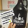 Logo Seba, Manu y Lola de Charlone en Radio Con Vos