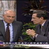 Logo Fuerzas Televizadas - Gorbachov con Mariano Grondona (1992)