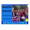 Logo #SensacionPersonal con Martin Giovio - #RedSolidaria