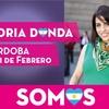 """Logo Victoria Donda """"con el socialismo tenemos una mirada estratégica común"""""""