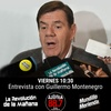Logo Guillermo Montenegro en Radio De la Azotea