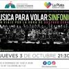 Logo Música Para Volar Sinfónico llega a La Plata