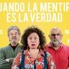 """Logo Leandro Santoro dialoga con Sergio Burstein y Larry Levy en """"Cuando la mentira es la verdad"""""""