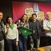 """Logo Entrevista a los candidatos de la lista """"Gris Blanca Dorada"""" de ATE Ensenada"""