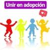 Logo Campaña Unir en Adopción