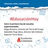 Logo Diego Romero y  Sebastián Puig Ubios sobre las escuelas experimentales en Tierra del Fuego