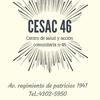 Logo CESAC 46 sin agua. Cientos de vecinos sin atención médica