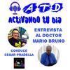 Logo ACTIVANDO TU DIA (ENTREVISTA AL DOCTOR MARIO BRUNO ONCOLOGO)