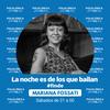 """Logo """"La noche es de los que bailan – Edición sábado"""" conducido por Mariana Fossati - 24/04/2021"""