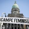 Logo Feminismo Villero en El Destape Radio