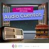 """Logo #AudioCuentosLU14 """"El número del hijo"""" de Edgardo Cozarinsky"""