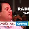 Logo El electo senador, Adrián Peña en Radio Carve