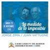 """Logo Jorge Zima en Revuelto Gramajo hablando de su CD """"La medida de lo imposible"""" a dùo con Juan Vattuone"""