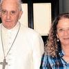 Logo Alicia Barrios Periodista de fuste, intima amiga del Papa explica por que no viene Bergoglio