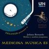 """Logo Medicina música es """"Primer programa 2019, lo femenino y la ciencia"""""""