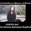 Logo Lorena Gutierrez,  madre de FATIMA QUINTANA GUTIERREZ . Femicidios en México