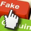 """Logo """"Miente, Miente que algo quedará"""". Trolls y Fake News, dueños de las redes sociales."""