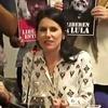 "Logo ""Vamos la copa de leche"" ((Radio)) Florencia Prego compañera de Fernando Esteche"