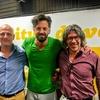 Logo Entrevista del @riflevarela con Federico Manzuoni y Andres Gorostiaga dueños de @Guapaletas