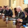 Logo #UniversidadPública I Reunión con Macri sobre el presupuesto de las universidades Rec. Jaime Perczyk