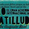 Logo El Gran Acuerdo Internacional del Tio Patilludo, de Augusto Boal.