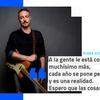 """Logo Pedro Aznar: """"A la gente le cuesta mucho más los últimos cuatro años, espero que las cosas cambien"""""""