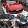 Logo 25 años de Porsche en la Argentina con un PWRS; VTV CABA