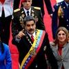Logo El Papa, Maduro y Guaidó