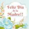 Logo Emotivo mensaje del Día de la Madre