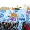 logo Pymes: El tarifazo nos lleva a la quiebra.