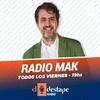 Logo FM107.3 El Destape Radio - La Radio MAK - Viernes 18-06-2021