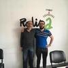 Logo  Carlos Francisco Torres, presidente de la sociedad de fomento villa Modelo paso por Radio a