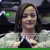 """Logo """"En la próxima sesión, #LeyDeEtiquetado tengo mucha confianza que sea #Ley"""" Cecilia Moreau"""