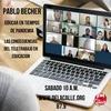 Logo Pablo Becher: Con la virtualidad el trabajo docente aumentó en intensidad, tiempo y exigencia.