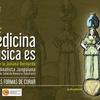 """Logo  Medicina música es """"Distintas formas de curar, osteopatía"""""""