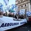 Logo Los pilotos traerán su protesta a Córdoba