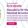 Logo #AndarEntreLibros MARÍA DEL CARMEN NOS INVITA A LA 19° MARATÓN DE LA FUNDACIÓN LEER