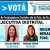 Logo Entrevista con Sergio Schaab y Viviana Verón, Trabajadores Sociales de la Lista 10 Celeste y Blanca