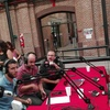 Logo Pedro Saborido se presenta hoy en la Biblioteca de Valentín Alsina que cumple 100 años!!!