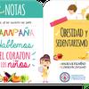 """Logo Campaña """"Hablemos del corazón de los niños"""" - Federación Argentina de Cardiología"""