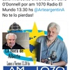 Logo Pacho O'Donnell con Alberto Lettieri en el Día de la Soberanía en #LaHoraDeAlberto, 20/11/2019
