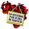 """Logo """"No hay dinero en Venezuela hay corralito"""""""