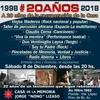 Logo Caballero difunde celebración 20 años Casa de la Memoria zona Norte