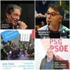 Logo #ElAmorEsMasFuerte, Entrevistas a Javier Andrade FDT; Miguel Bautista Carballo PSOE; Lido Iacomini.