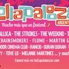 Logo Line Up del Lollapalooza Argentina 2017
