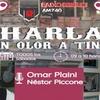 Logo charlas con olor a tinta editorial Omar Plaini
