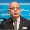 Logo 11.10.20 @JorgeFaurie, exministro de Relaciones Exteriores y Culto de la Nación, en #Pagaelquesigue