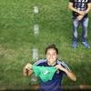 """Logo Luana Muñoz: """"""""Es espectacular que las mujeres encuentren en el fútbol un espacio para empoderarse""""."""